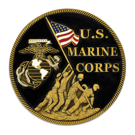 Officially Licensed U.S. Marine Corps Coin Front