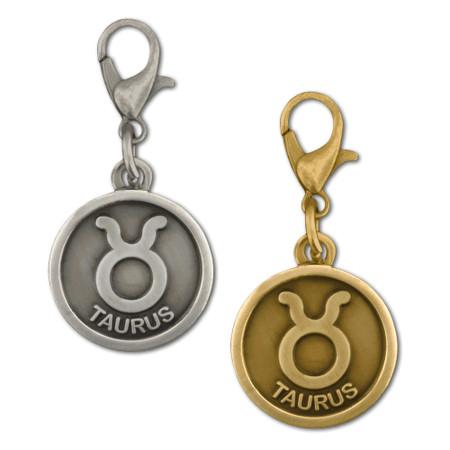 Taurus Zodiac Charm