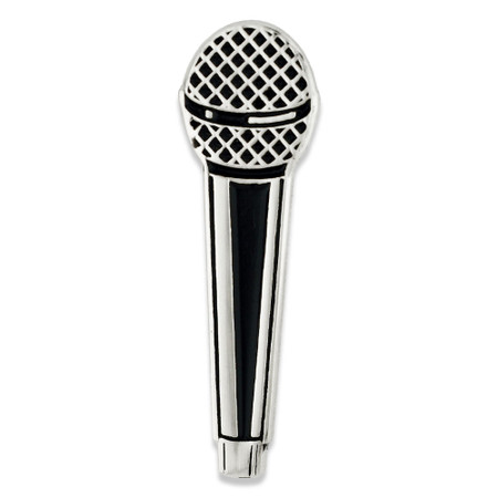 Microphone Pin front