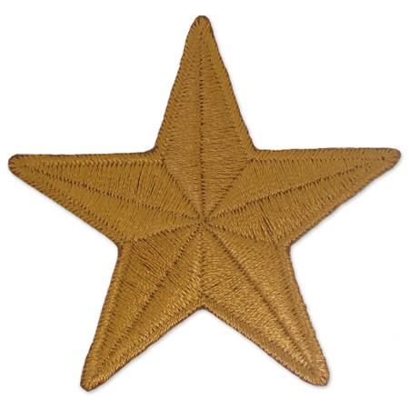 Patch - 1-1/2 inch Star Bronze