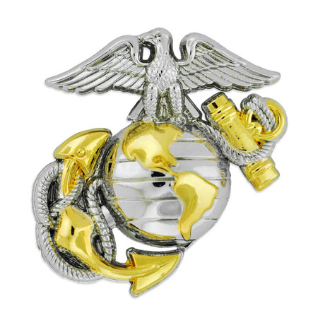 Officially Licensed U.S. Marine Corps Emblem Pin