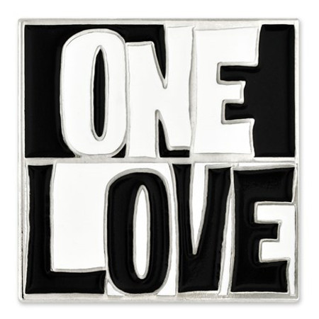 One Love Lapel Pin front