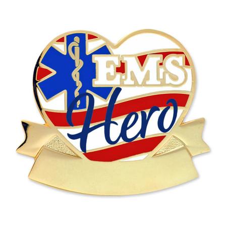 Engravable EMS Hero Pin