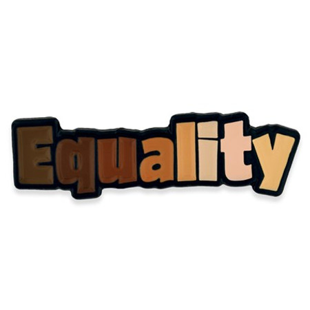 Equality Lapel Pin front