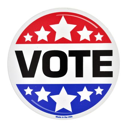 Vote Magnet Front