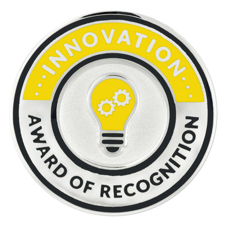 Innovation Recognition Lapel Pin Front