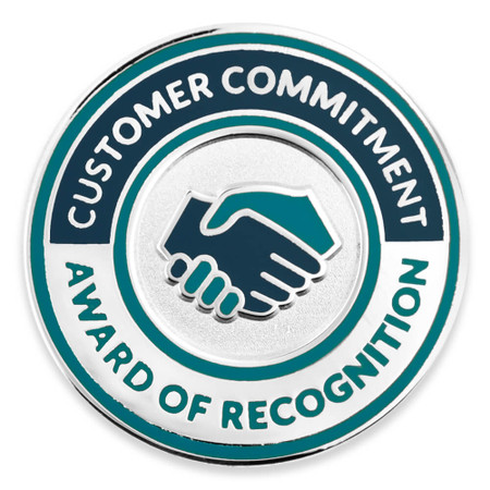 Customer Commitment Recognition Lapel Pin