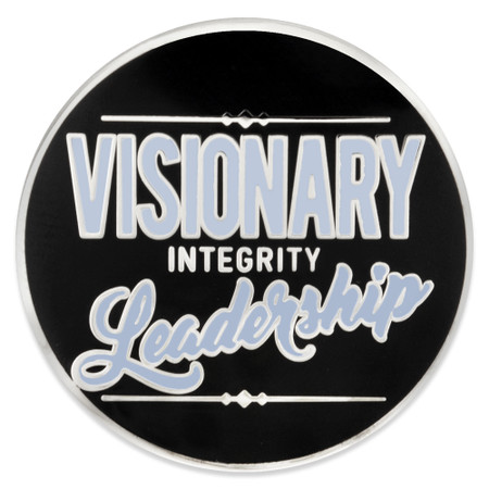 Visionary Leadership Lapel Pin front