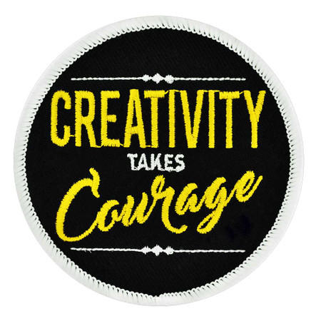 Creativity Takes Courage Patch