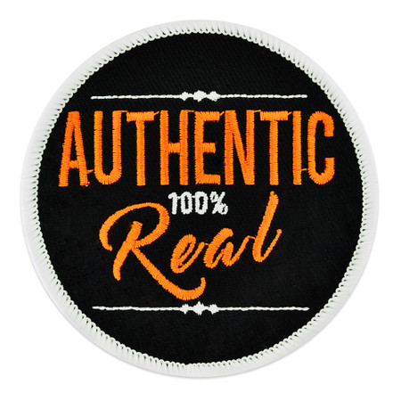 Authentic 100% Real Patch