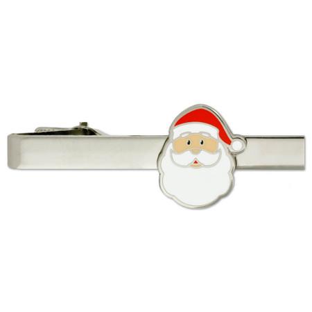 Santa Tie Clip-Engravable Front