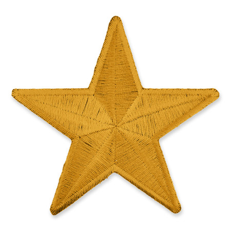 Patch - 3 inch Star