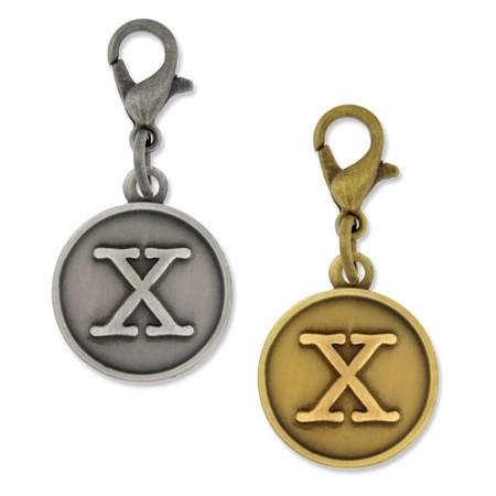 Initial X Charm