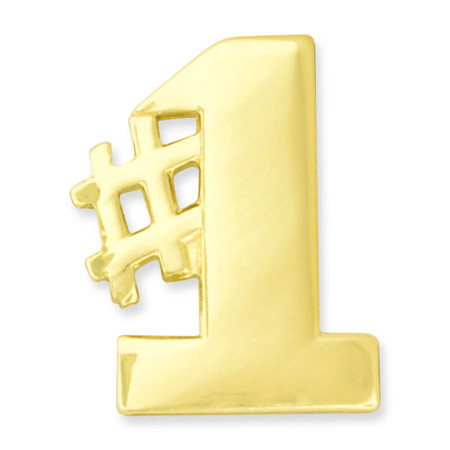 Number One Pin
