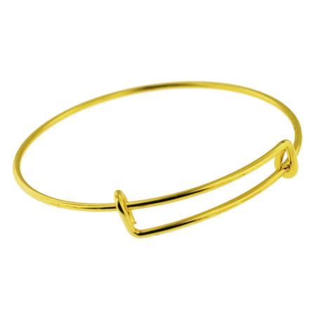 Bangle Charm Bracelet - Gold