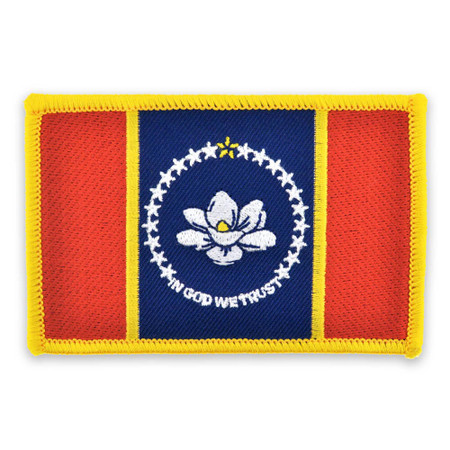 Patch - Mississippi State Flag