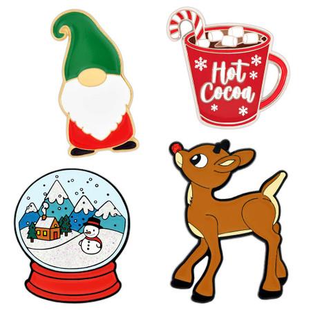Holiday 4 Pin Set