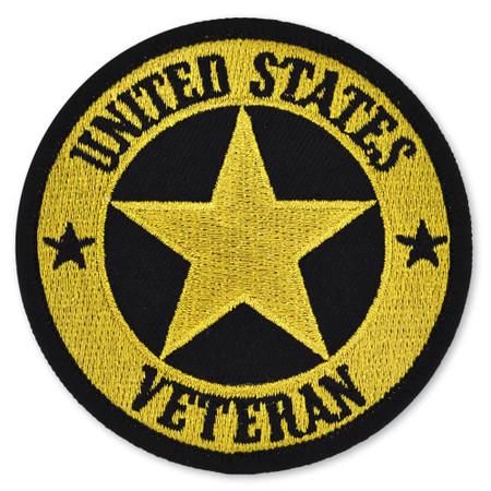 """3"""" Inch U.S. Veteran Patch"""