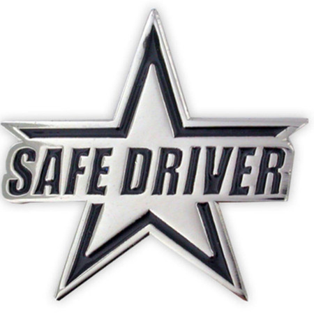Safe Driver Pin Front