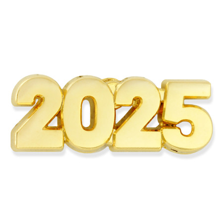 2025 Year Lapel Pin Front