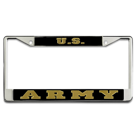 US Army Mirror License Plate Frame