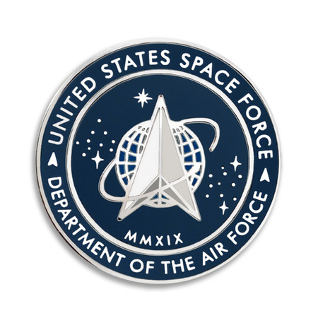 U.S. Space Force Pin Front