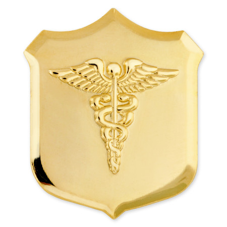 Officially Licensed U.S. Navy Corpsman Pin Front