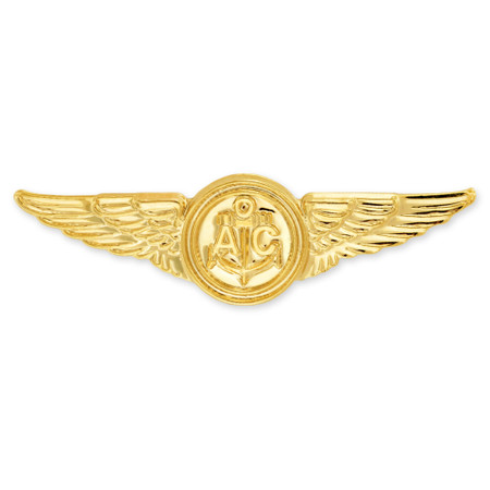 Officially Licensed U.S. Navy Air Crew Pin Front