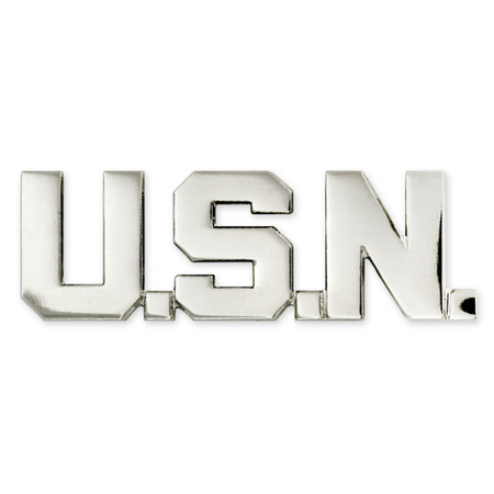 Officially Licensed U.S.N. Lapel Pin Front