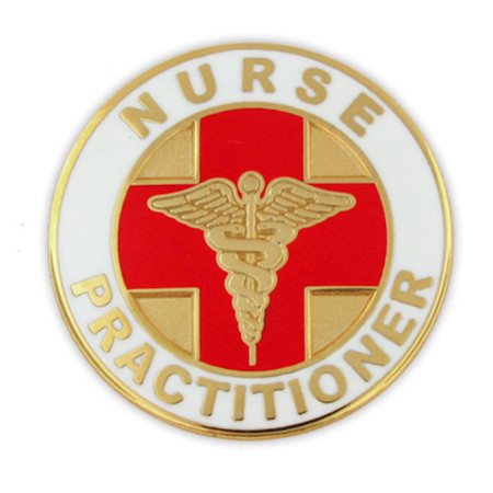 Nurse Practitioner Pin Front