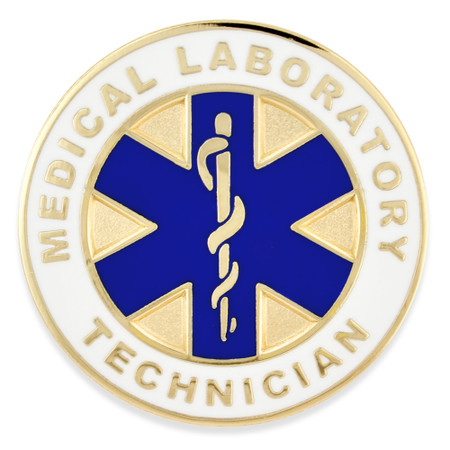 Medical Lab Technician Pin Front