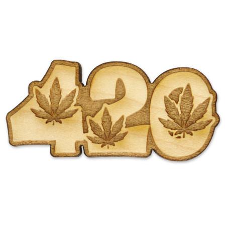 420 Wood Pin Front
