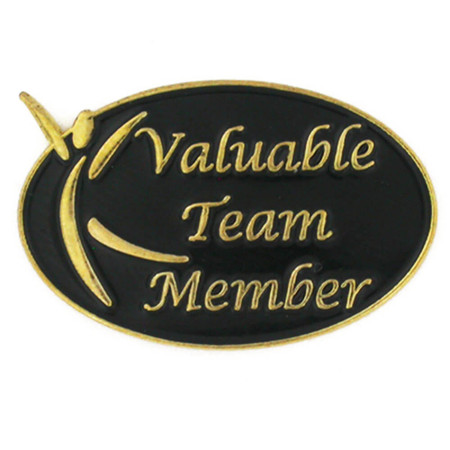 Valuable Team Member Pin