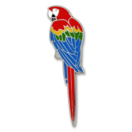 Parrot Pin Front