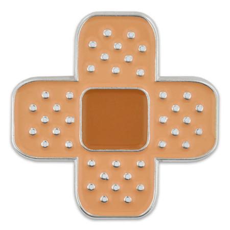 Bandage Lapel Pin Front