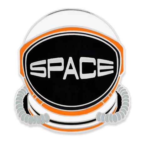 SPACE Helmet Pin Front