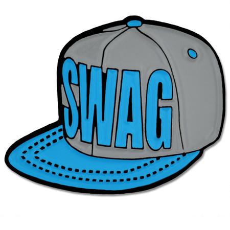 Swag Snapback Hat Pin Front
