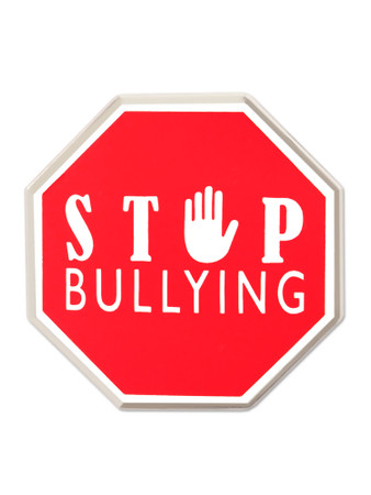 Stop Bullying Pin Front