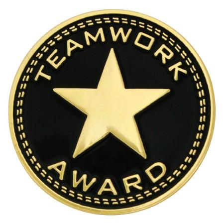 Teamwork Award Pin Front