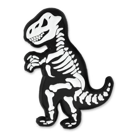 T-Rex Skeleton Pin Front