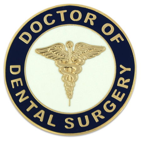 Doctor of Dental Surgery Pin