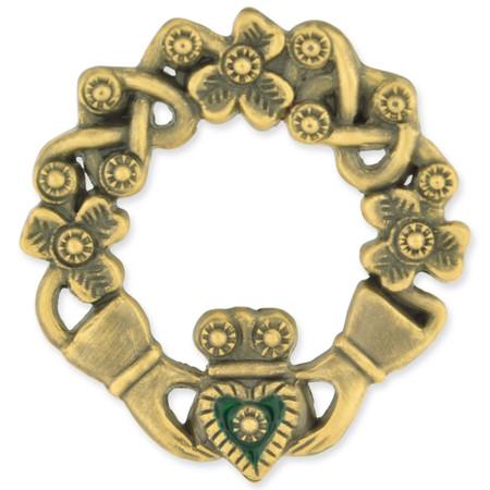 Irish Claddagh Pin