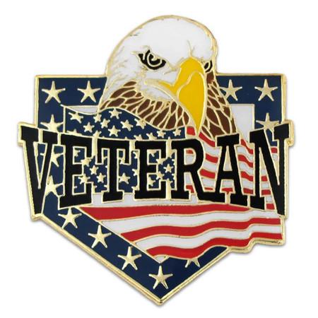 Veteran Lapel Pin Front