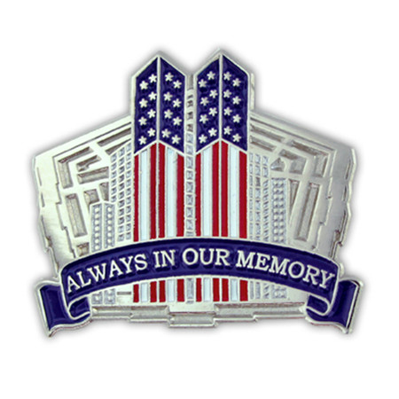 9-11 Always in Our Memory Pin