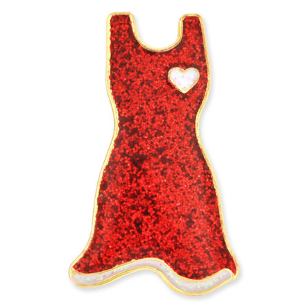 American Heart Month - Red Dress Pin Front