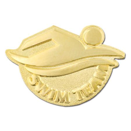 Swim Team Pin Front