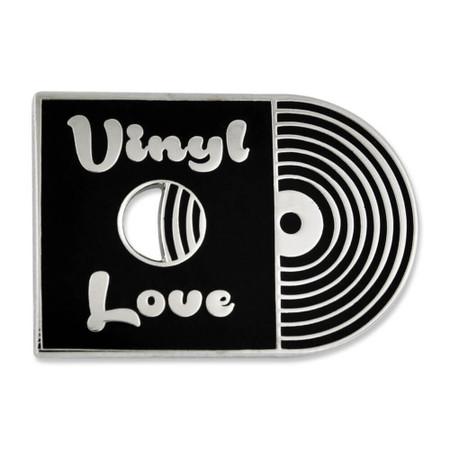 Vinyl Love Pin Front
