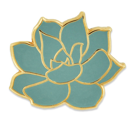 Succulent Pin Front