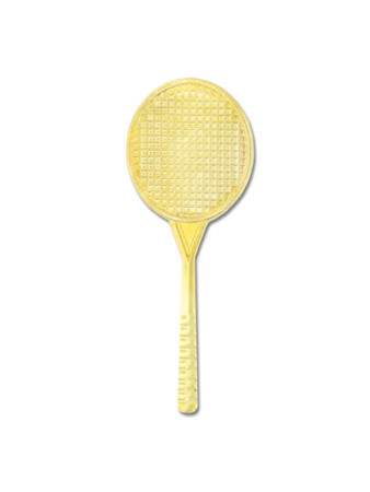 Tennis Chenille Pin Front