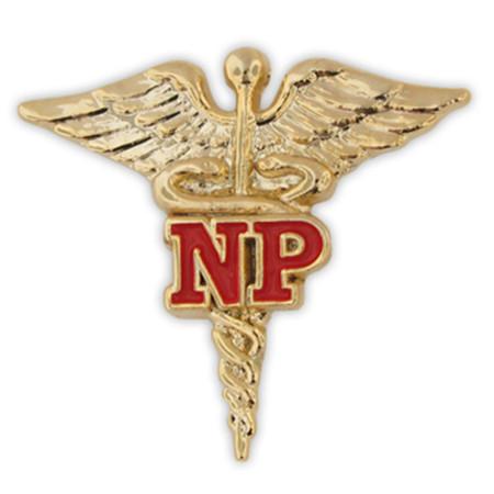 NP Caduceus Lapel